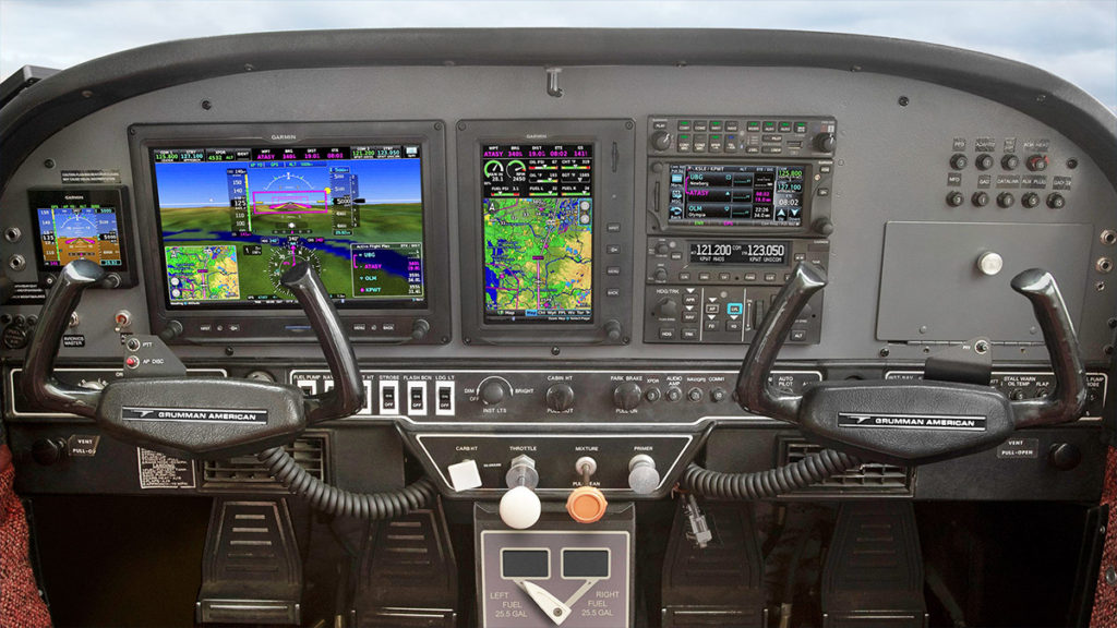 AFTER: Garmin G3X Touch in totally refurbished panel.
